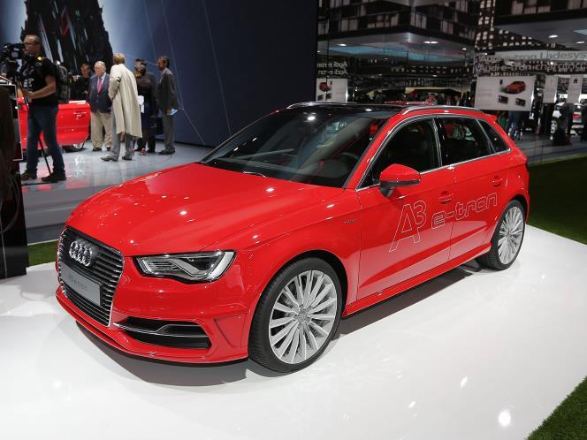 2014 Audi A3 E-tron sportback in Frankfurt