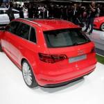 Audi A3 E-tron Sportback rear view