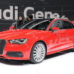 Audi A3 E-tron Sportback unveiled at the 2013 Geneva Motor Show
