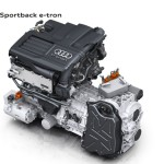 Audi A3 e-Tron engine and electric motor